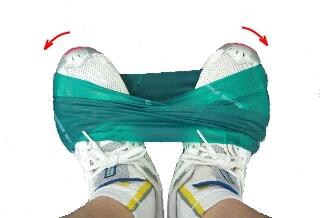 長腓骨筋、短腓骨筋の筋トレ