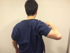 肩を痛める行為