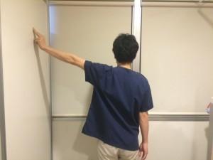 壁伝い体操